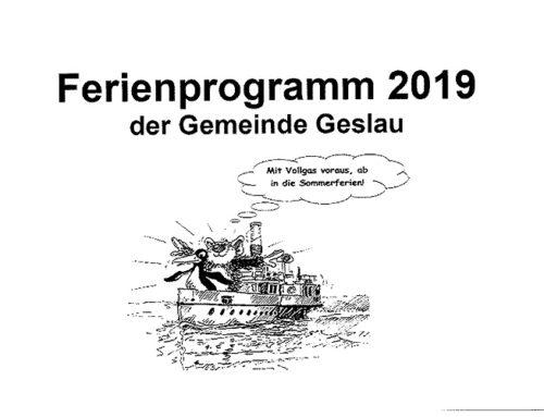 Impressionen Ferienprogramm 2019